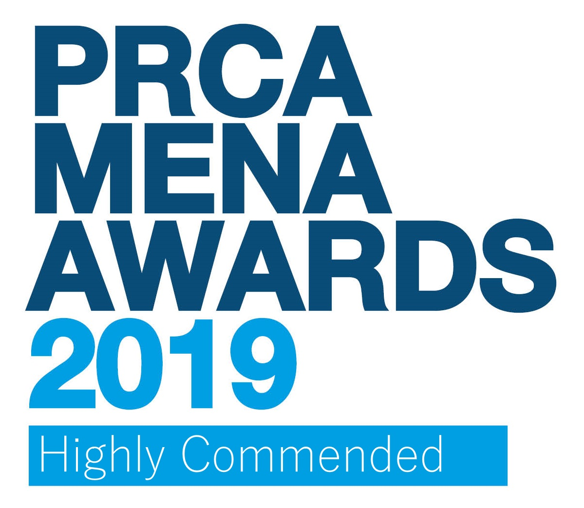 PRCA MENA Awards 2019 Highly Commended