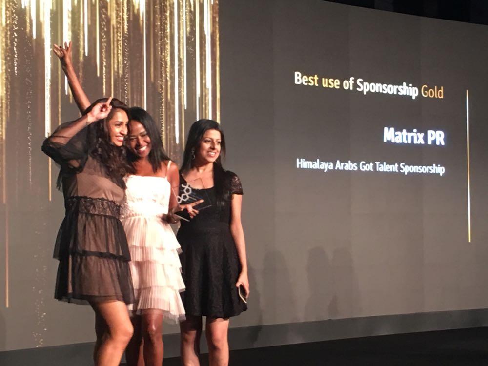 Matrix Wins Gold at MEPRA Awards