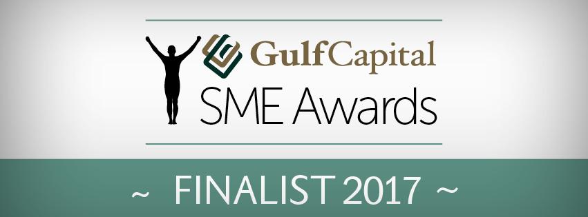 Gulf Capital SME Finalists Logo 2017