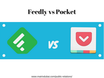 feedly vs pocket pr agency in dubai | public relations